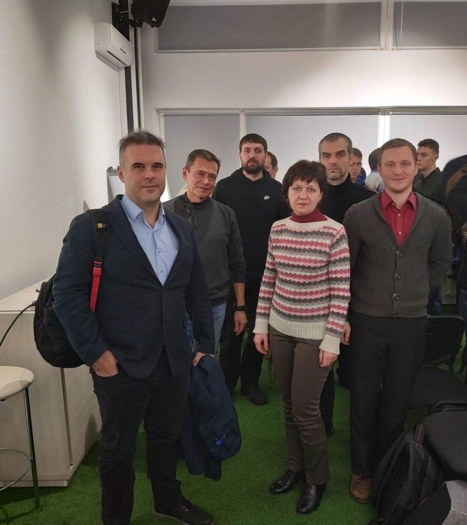 Встреча в рамках проекта Embedded University Tech Talk компании Sigma Software