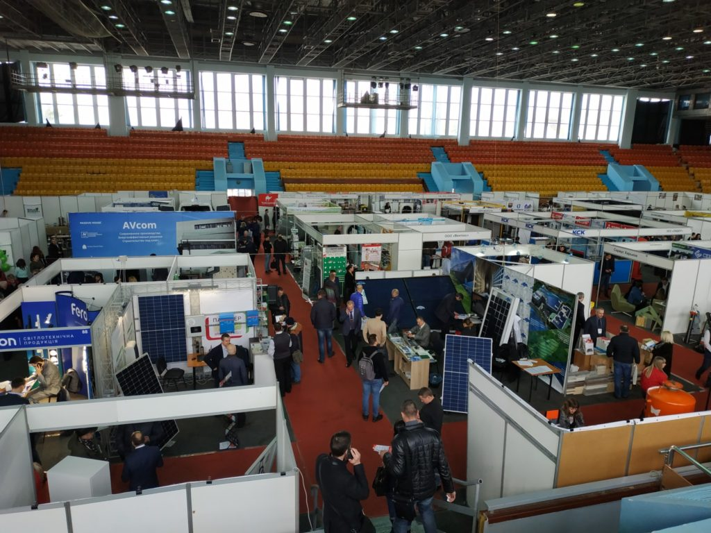 Participation of the MTS department at the exhibition KharkivBUILD&Energy