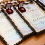 Вручення нагород співробітникам кафедри МТС