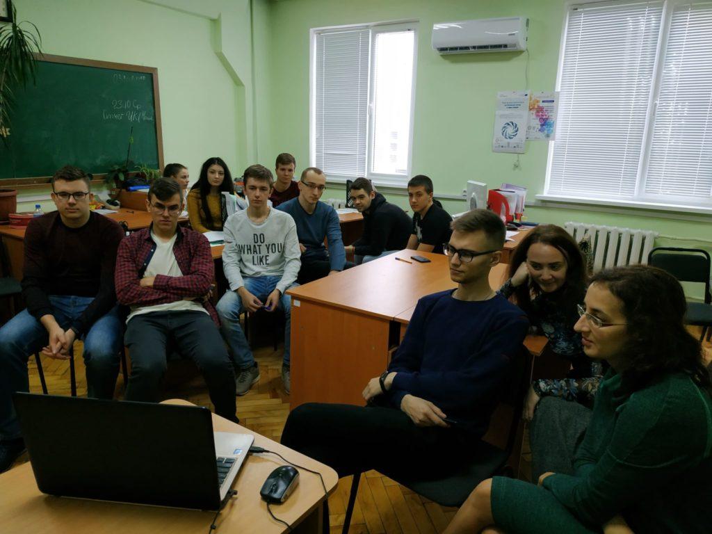 На кафедре МТС состоялся вебинар, проведенный совместно с кафедрой систем информации НТУ «ХПИ»