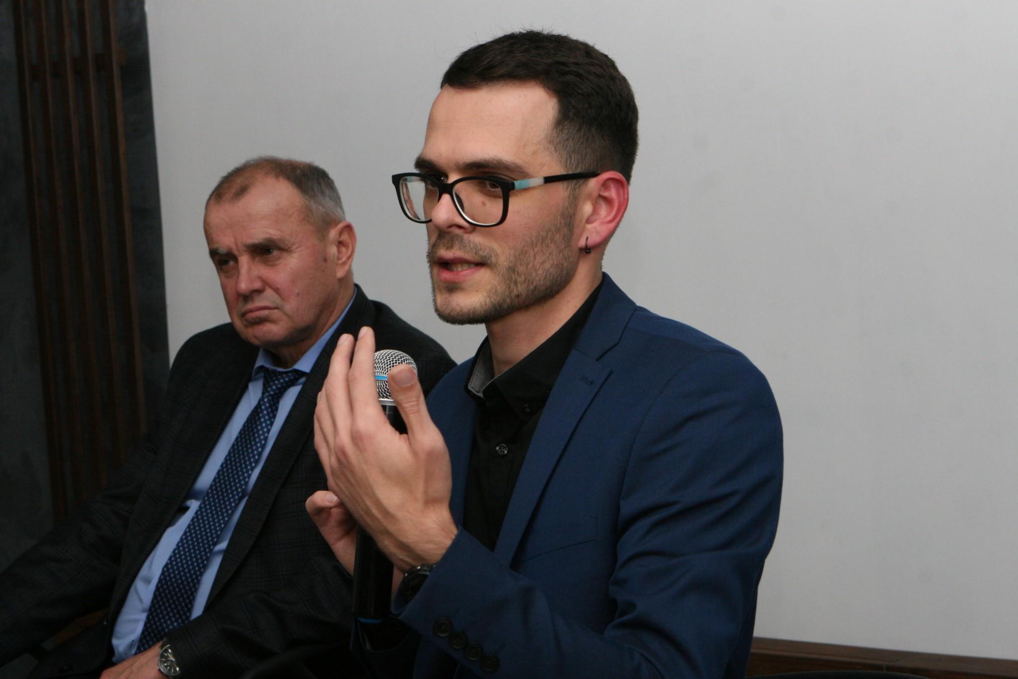 Встреча с заместителем министра образования и науки Украины Егором Стадным