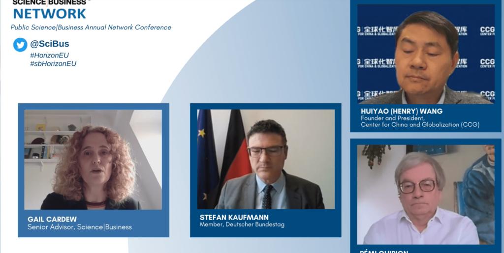 Участь у щорічній мережевій бізнес-конференції «Дослідження і розробки у процесі відновлення: що може запропонувати Horizon Europe?»