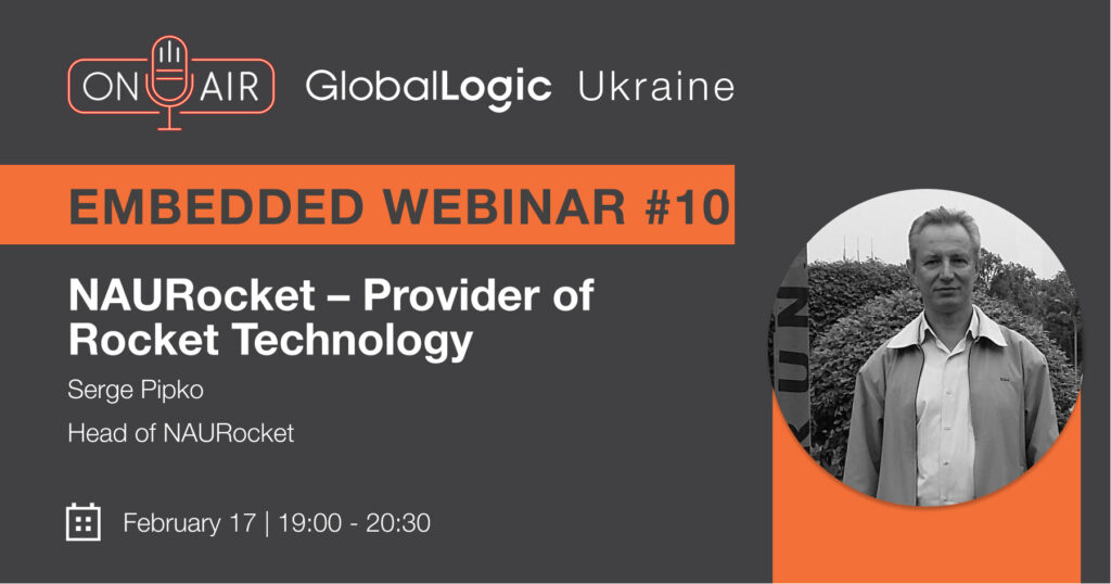 "Embedded Webinar #10: ""NAURocket – Provider of Rocket Technology"""