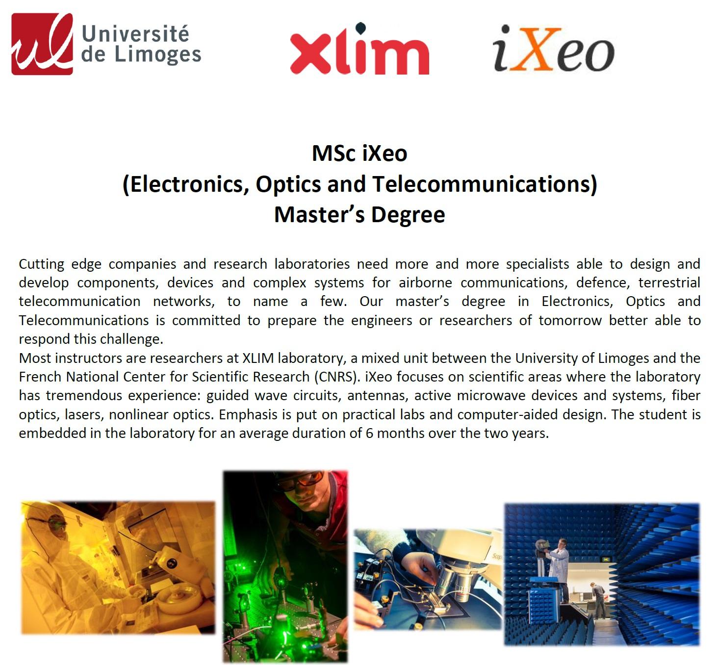 Запрошуємо до участі у відборі на програму подвійного диплому з університетом Лімож